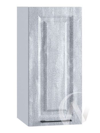 "Кухня ""Либерти"": Шкаф верхний 300, ШВ 300 (Холст натуральный/корпус белый)"
