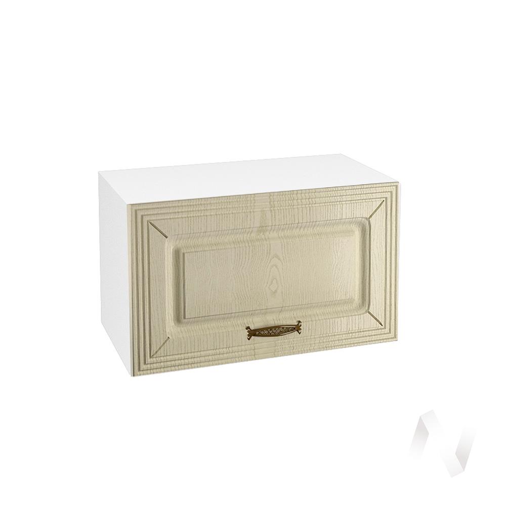 """Кухня """"Изабель"""": Шкаф верхний горизонтальный 600, ШВГ 600 (корпус белый)"""