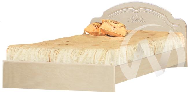 Валенсия Кровать №2 1,4 (бодега бежевый-клён)