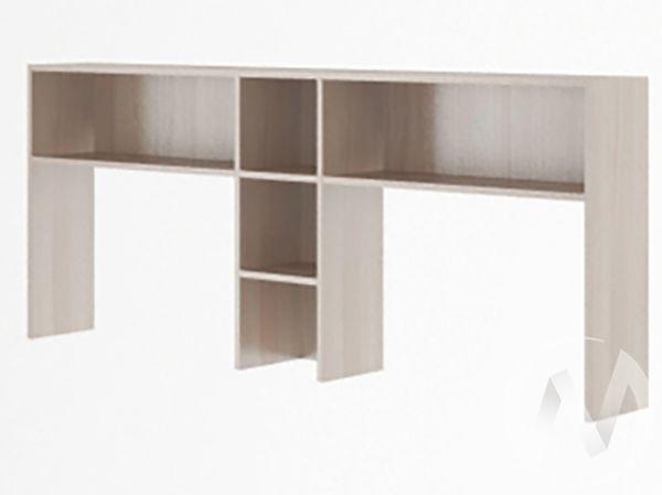 Надстройка стола двойного М15 Остин (ясень шимо светлый/белый)