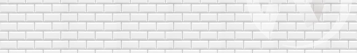 Панель декоративная АВС пластик 600*3000 Белая плитка ФФ 396