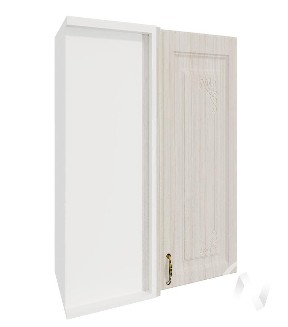 """Кухня """"Виктория"""": Шкаф верхний угловой 699, ШВУ 699 (корпус белый)"""