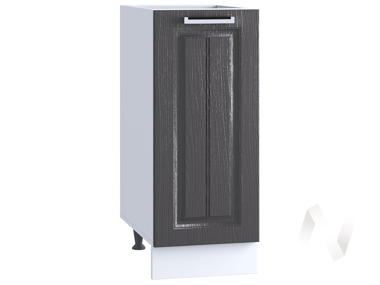 "Кухня ""Луксор"": Шкаф нижний 300, ШН 300 (Клен серый/корпус белый)"