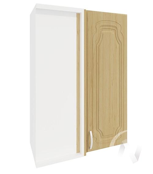 """Кухня """"Настя"""": Шкаф верхний угловой 699, ШВУ 699 (Береза/корпус белый)"""
