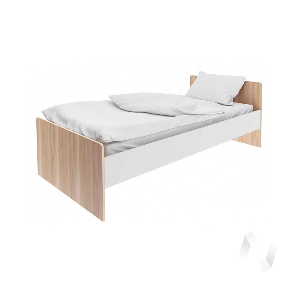 """Кровать """"Умка""""СТЛ.302.04 (Дуб сонома/Белый)"""