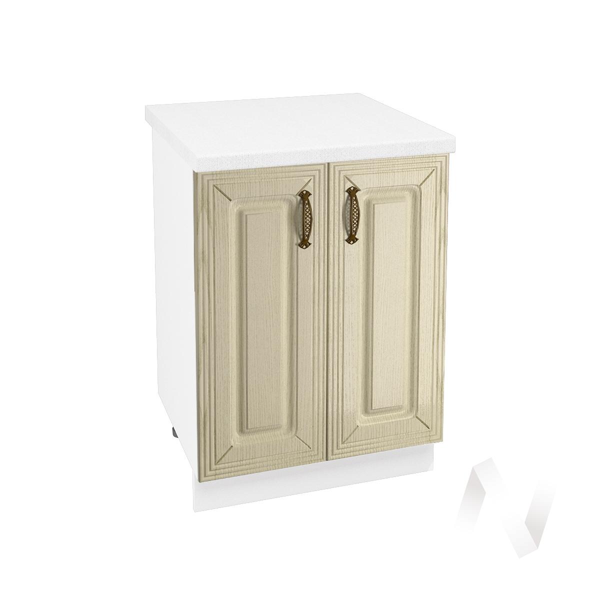 """Кухня """"Изабель"""": Шкаф нижний 600, ШН 600 новый (корпус белый)"""