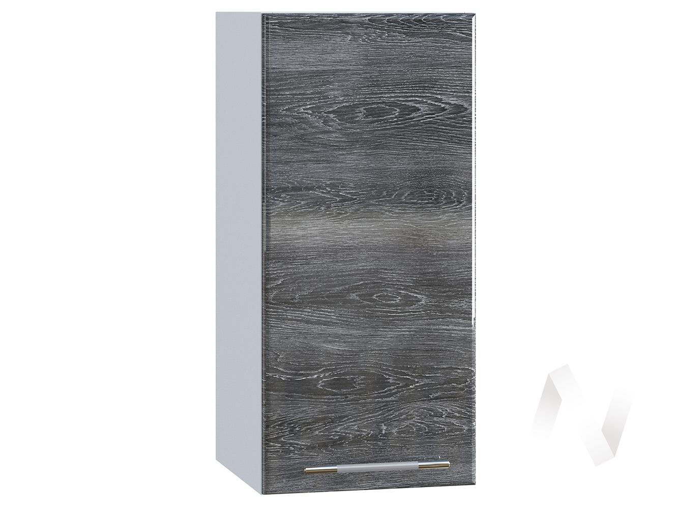 "Кухня ""Танго"": Шкаф верхний 300, ШВ 300 (Дуб шале серебро/корпус белый)"