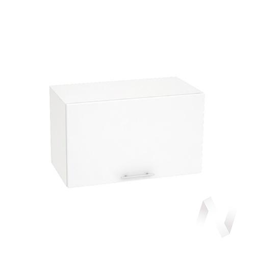 """Кухня """"Валерия-М"""": Шкаф верхний горизонтальный 800, ШВГ 800 (белый глянец/корпус белый)"""