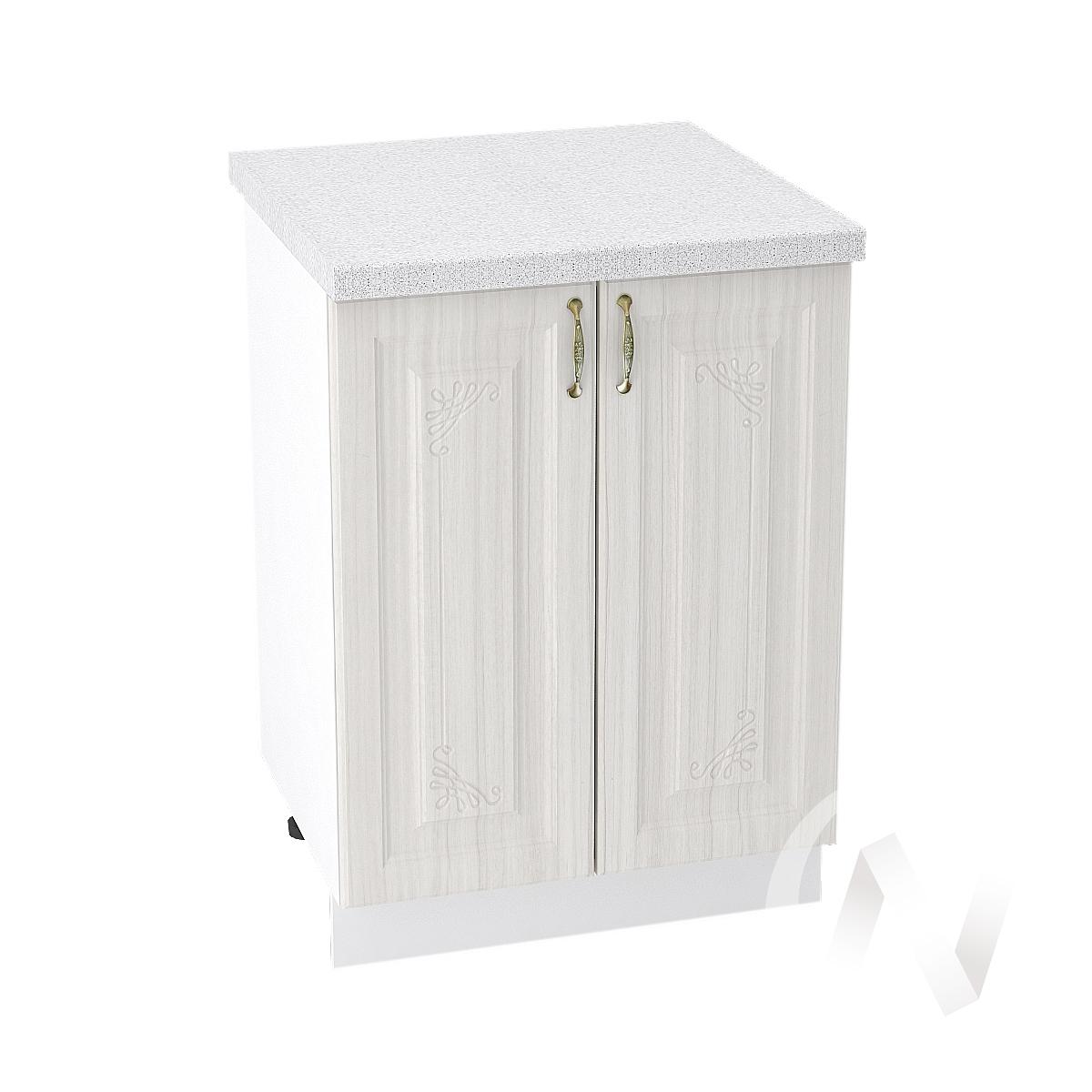 "Кухня ""Виктория"": Шкаф нижний 600, ШН 600 новый (корпус белый)"
