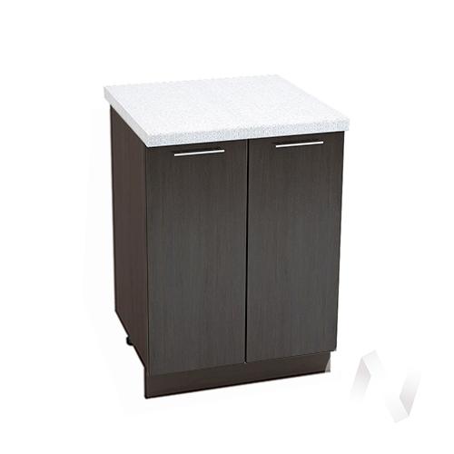 """Кухня """"Валерия-М"""": Шкаф нижний 600, ШН 600 новый (венге/корпус венге)"""