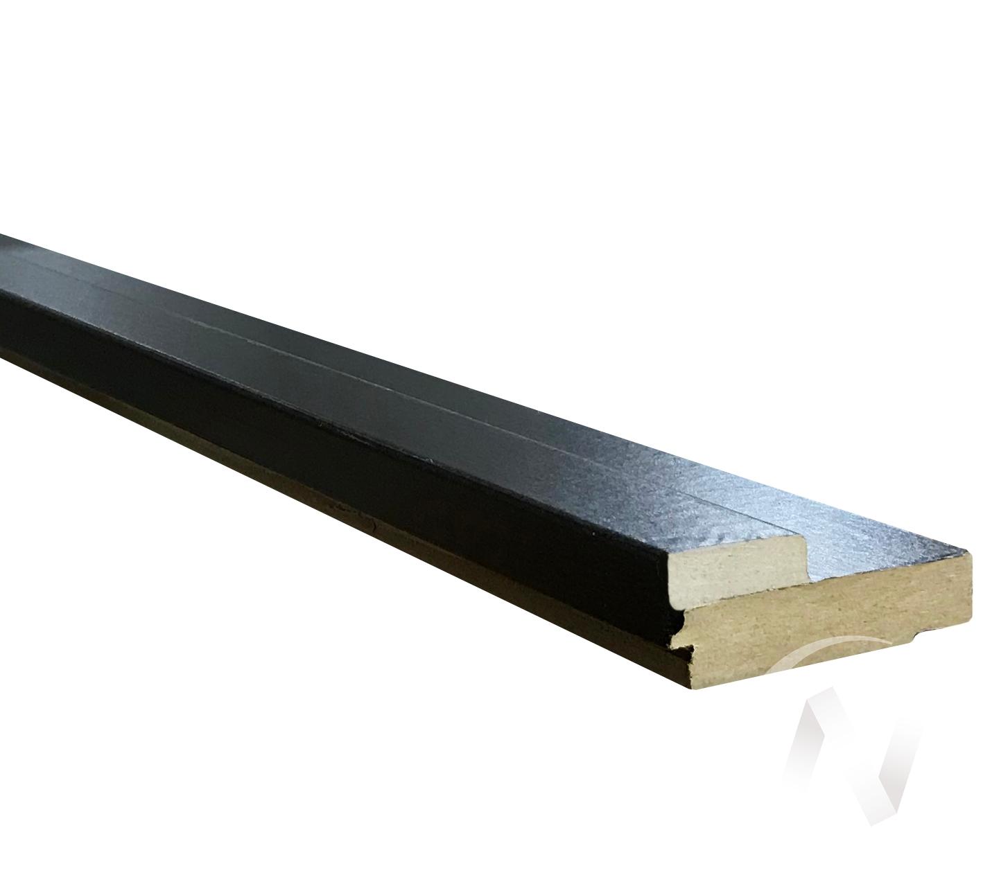 Коробка ламинированная (квадратная, 70*26*2070, венге, с пазом)  в Томске — интернет магазин МИРА-мебель