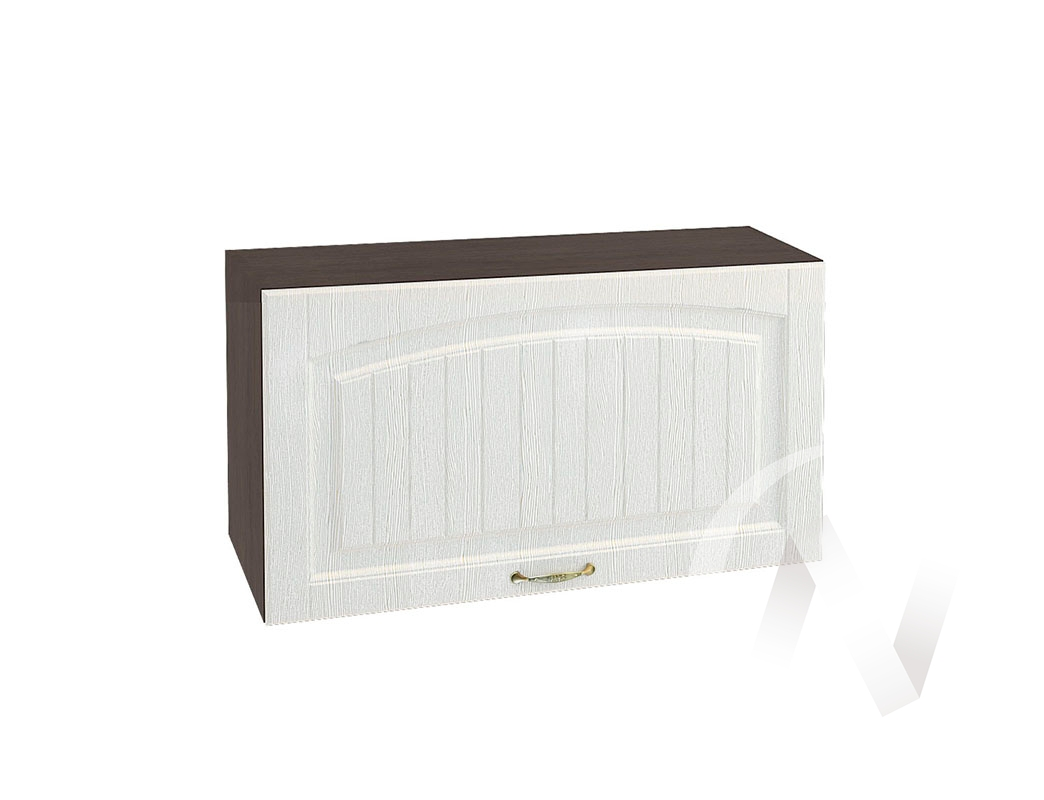 """Кухня """"Верона"""": Шкаф верхний горизонтальный 809, ШВГ 809 (ясень золотистый/корпус венге)"""