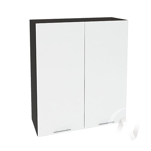 """Кухня """"Валерия-М"""": Шкаф верхний 809, ШВ 809 новый (белый глянец/корпус венге)"""