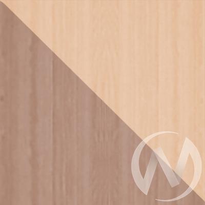 Шкаф-купе «Жаклин» 2-х дверный тройной ЛДСП (ясень шимо темный/ясень шимо светлый)  в Томске — интернет магазин МИРА-мебель