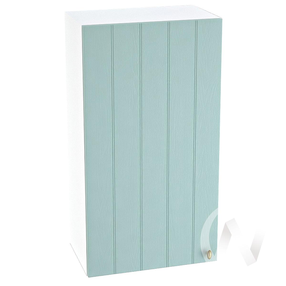 "Кухня ""Прованс"": Шкаф верхний 509, ШВ 509 (голубой/корпус белый)"