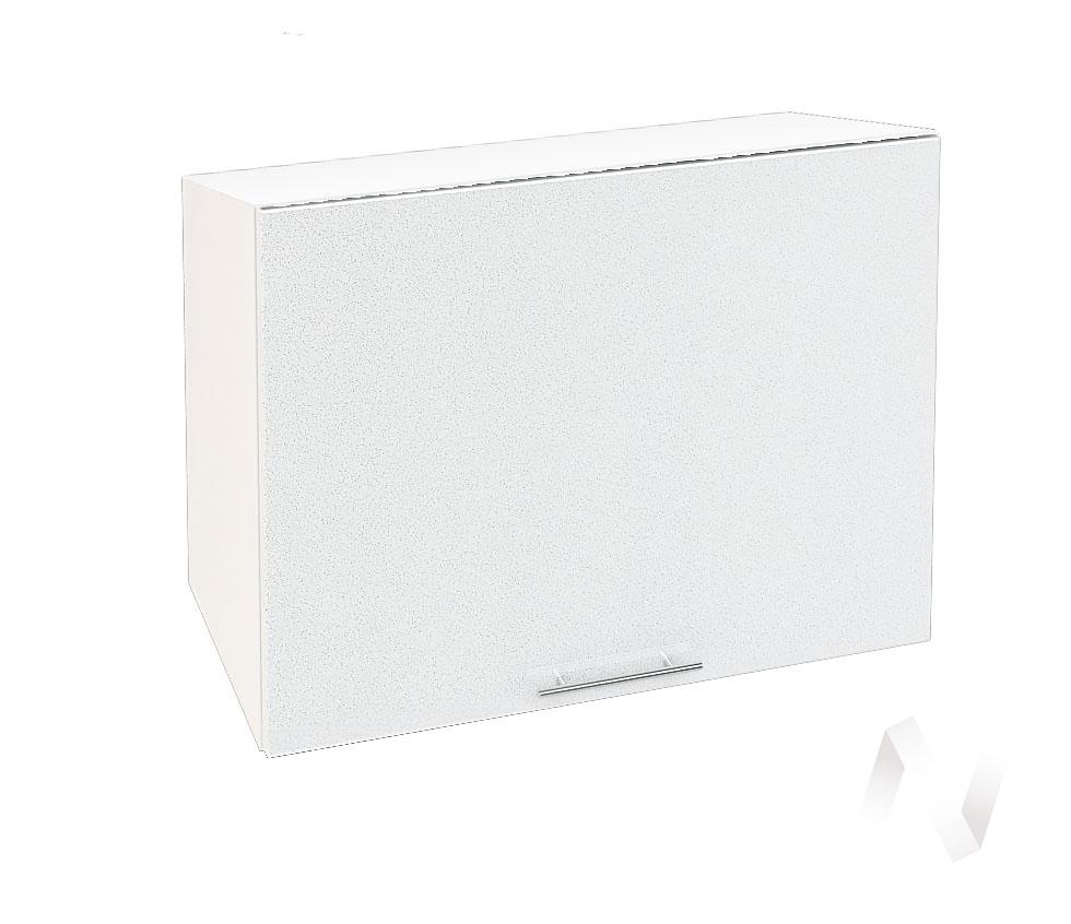 "Кухня ""Валерия-М"": Шкаф верхний горизонтальный 609, ШВГ 609 (белый металлик/корпус белый)"