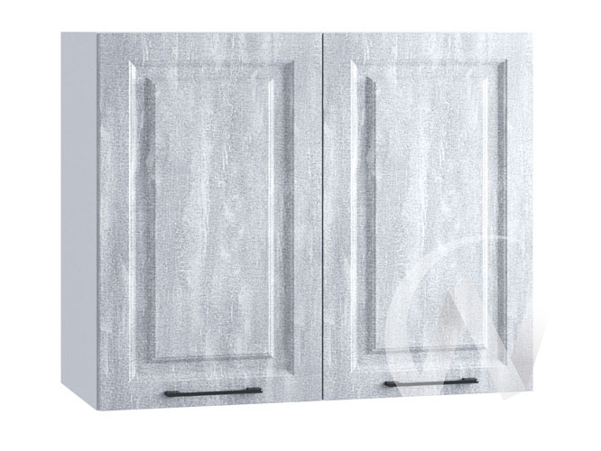 "Кухня ""Либерти"": Шкаф верхний 800, ШВ 800 (Холст натуральный/корпус белый)"