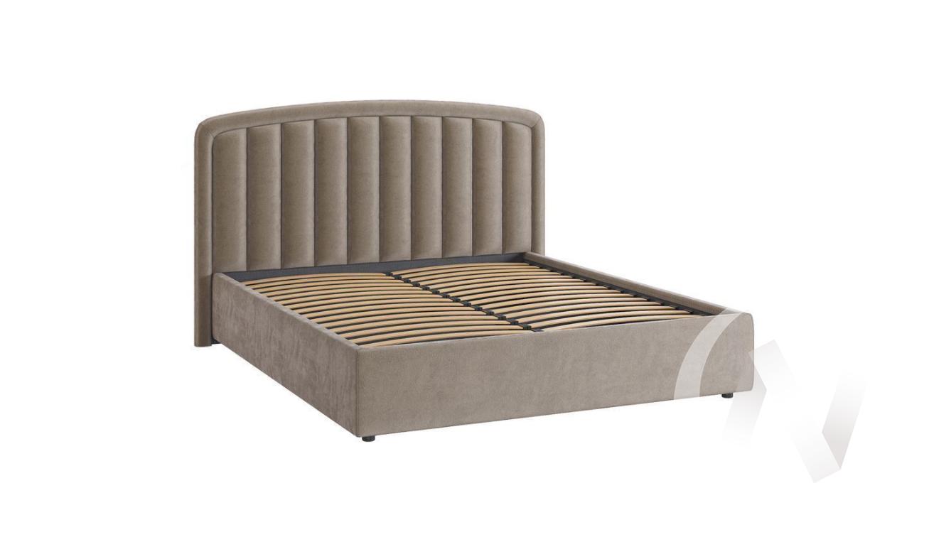 """Кровать мягкая 1,6 с подъемным механизмом """"Сиена-2"""" (Какао)"""