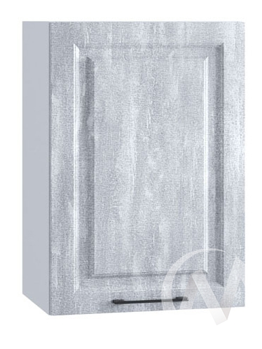 "Кухня ""Либерти"": Шкаф верхний 450, ШВ 450 (Холст натуральный/корпус белый)"