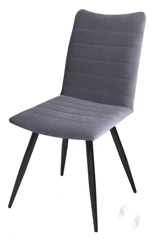Стул Wins (Velutto 19/металлокаркас черный) комплект 2 шт.  в Томске — интернет магазин МИРА-мебель