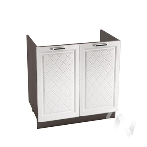 "Кухня ""Вена"": Шкаф нижний под мойку 800, ШНМ 800 (корпус венге)"