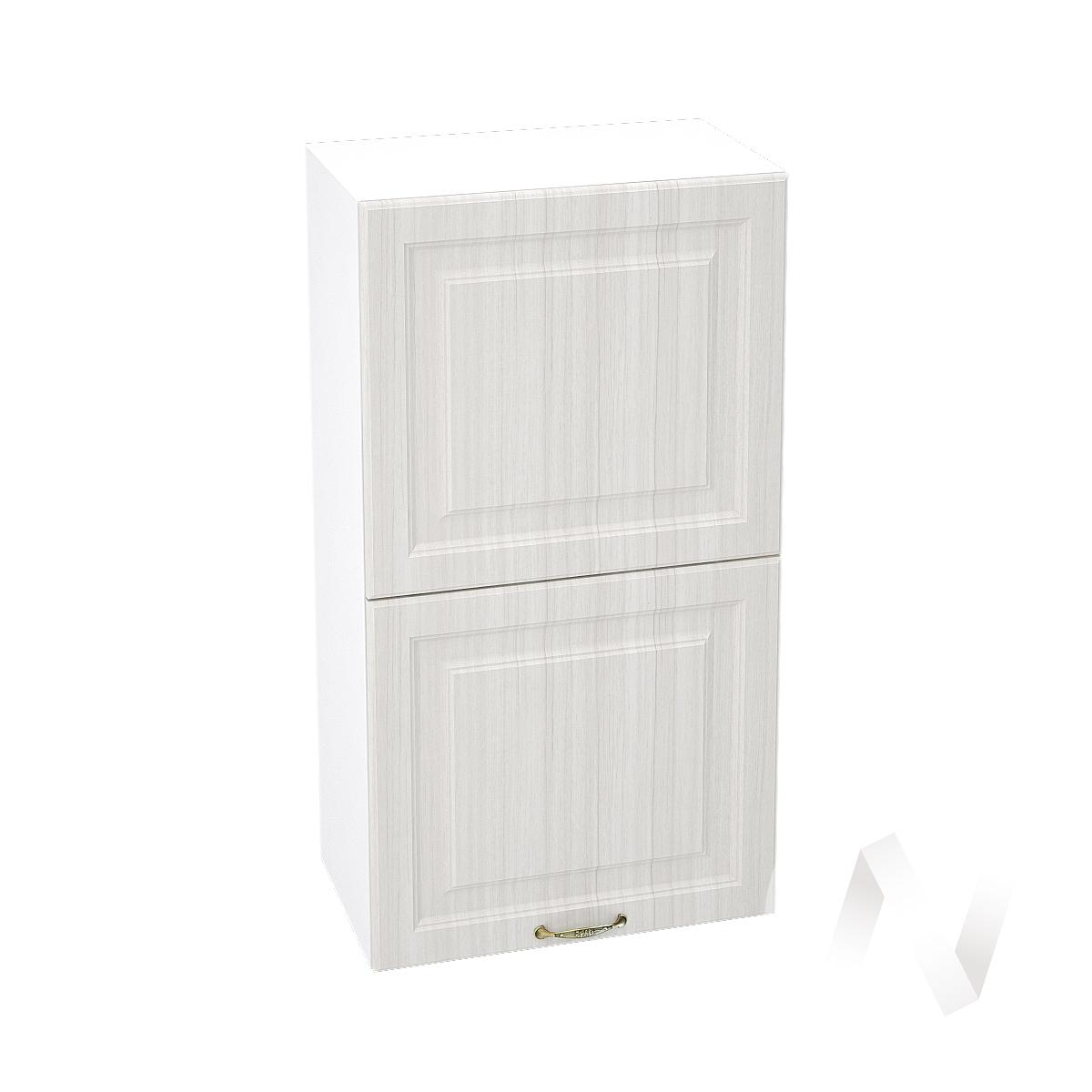 """Кухня """"Виктория"""": Шкаф верхний горизонтальный 502, ШВГ 502 (корпус белый)"""