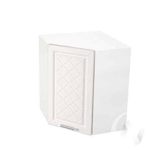 """Кухня """"Вена"""": Шкаф верхний угловой 590, ШВУ 590 (корпус белый)"""