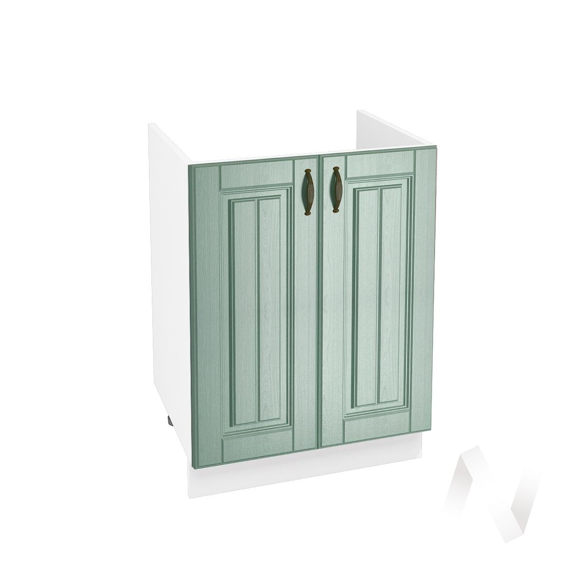 "Кухня ""Прованс"": Шкаф нижний под мойку 600, ШНМ 600 новый (корпус белый)"