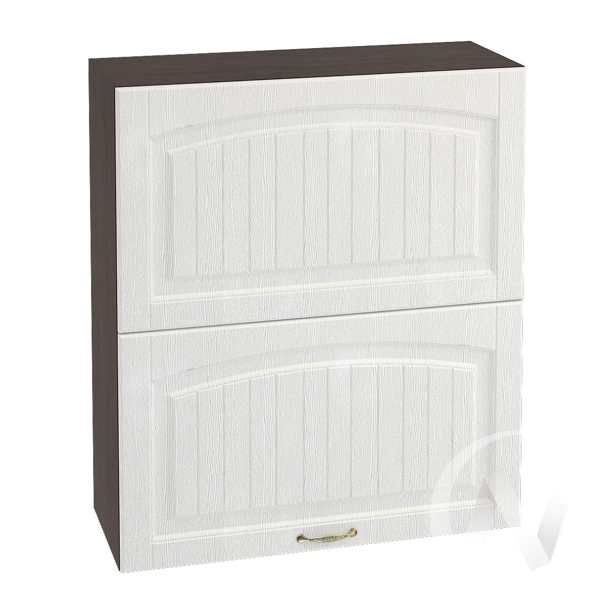 """Кухня """"Верона"""": Шкаф верхний горизонтальный 802, ШВГ 802 (ясень золотистый/корпус венге)"""