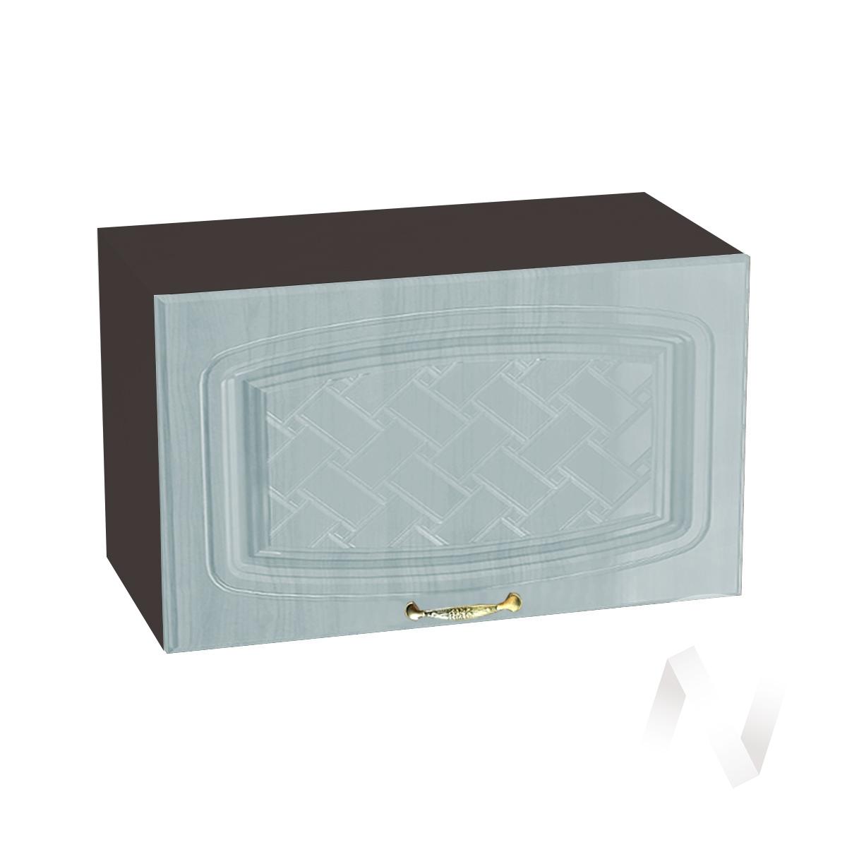 """Кухня """"Сити"""": Шкаф верхний горизонтальный 600, ШВГ 600 (корпус венге)"""