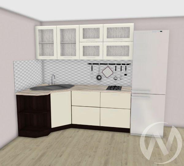 Кухня Магнолия матовая угловая 1,2*2,1 №1
