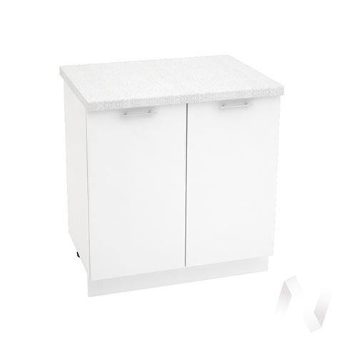 "Кухня ""Валерия-М"": Шкаф нижний 800, ШН 800 новый (белый глянец/корпус белый)"