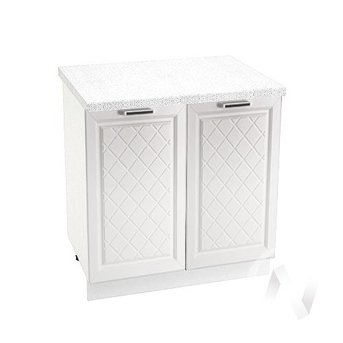 "Кухня ""Вена"": Шкаф нижний 800, ШН 800 (корпус белый)"