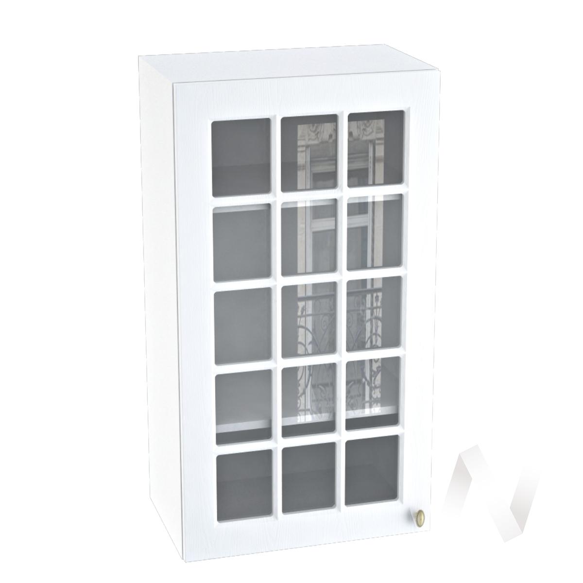 "Кухня ""Прованс"": Шкаф верхний 509, ШВC 509 (белое дерево/корпус белый)"
