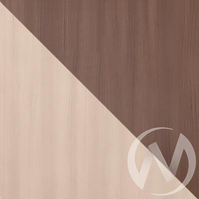 Бася Антресоль 2-х створчатая ЛДСП(ясень шимо темный/ясень шимо светлый) АН 552