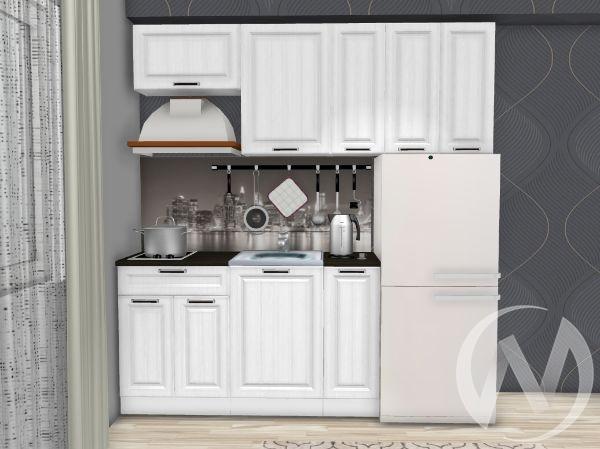 """Кухня """"Прага"""" 2.0м (белое дерево/корпус белый)"""