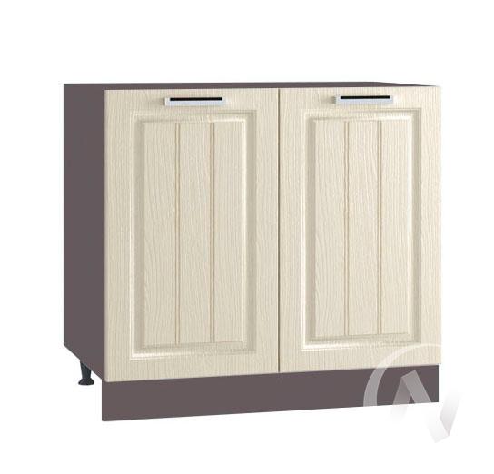 "Кухня ""Луксор"": Шкаф нижний 800, ШН 800 (Клен крем/корпус венге)"