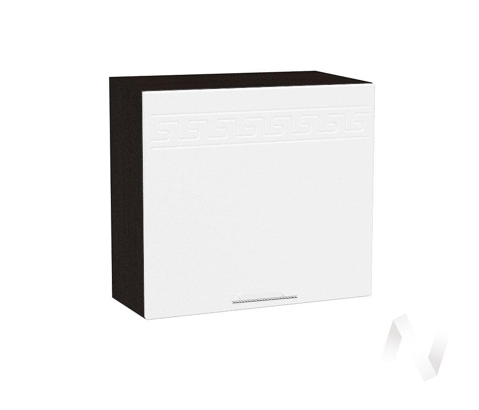 "Кухня ""Греция"": Шкаф верхний горизонтальный 509, ШВГ 509 (белый металлик/корпус венге)"