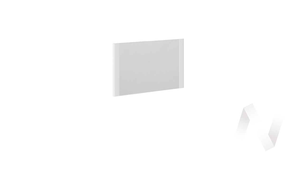 """Панель с зеркалом """"Наоми"""" ТД-208.06.01 (Белый глянец)"""