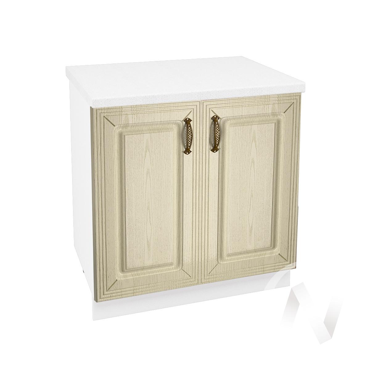 """Кухня """"Изабель"""": Шкаф нижний 800, ШН 800 новый (корпус белый)"""