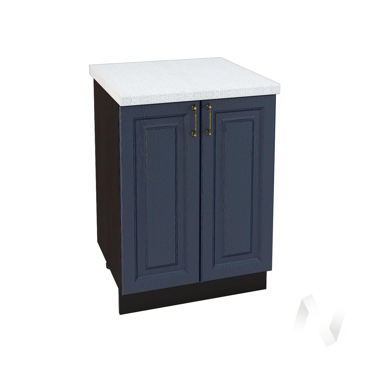 """Кухня """"Ницца"""": Шкаф нижний 600, ШН 600 новый (Дуб чернильный/корпус венге)"""