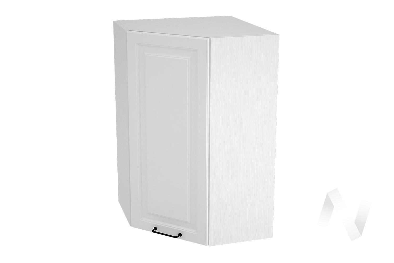 "Кухня ""Ницца Royal"": Шкаф верхний угловой 599, ШВУ 599 (Blanco/корпус белый)"